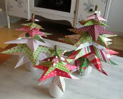 paper star christmas tree pinching your pennies
