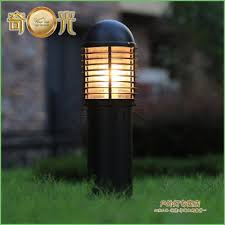 Outside Landscape Lighting - lighting solar garden lamp post lights australia outdoor lamp