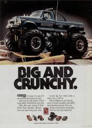 bigfoot monster truck model kit amt 1987 vintageads ads