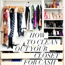 Cleaning Out Your Wardrobe by How To To Clean Out Your Closet For Cash