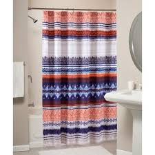 Orange And Blue Shower Curtain Orange Shower Curtains You U0027ll Love Wayfair
