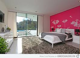 Wonderfully Designed Mural Wallpapers In The Bedroom Home - Bedroom designed