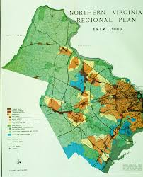 Virginia Regions Map by Maps Prince William Conservation Alliance