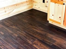 Laminate Flooring Walnut Flooring Options For Your Prefab Log Cabin Leland U0027s Cabins