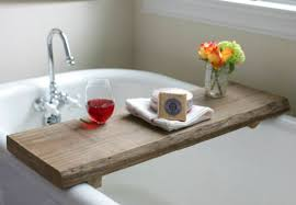 17 apart on ehow diy reclaimed wood bath caddy