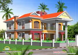kerala home design front elevation fancy design ideas double floor house plan and elevation 6 storey