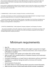 flight attendant requirements flight attendant diversity