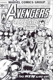 marvel superheroes avengers coloring page for kids printable pow