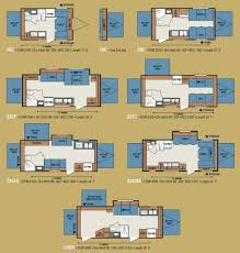 100 travel trailer floor plans with bunk beds travel