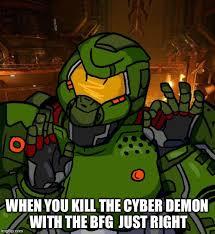 Doom Guy Meme - just right doomguy memes imgflip