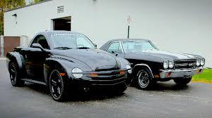 concept el camino 1970 chevy el camino vs 2004 chevy ssr generation gap pickup