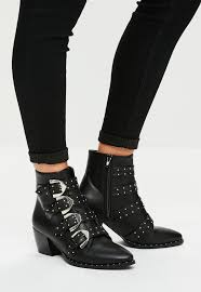 s boots with buckles boots shop s boots missguided