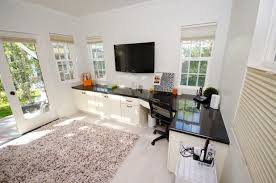 home office with tv 9 tips to combine a home office and tv den