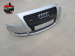 audi tt mk1 8n front bumper cover w grille silver 8n0807111