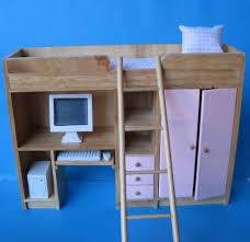 leiter regal rosa puppenhaus kinderzimmer etagenbett hochbett schrankbett