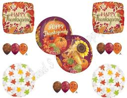 thanksgiving orbz harvest dinner banquet balloons decoration