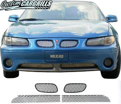 custom grill mesh kits for pontiac vehicles by customcargrills com