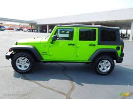 gecko green jeep gecko green 2012 jeep wrangler unlimited sport s 4x4 exterior