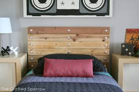 Headboard Wall Decor by Wooden Bed Headboard Ideas Trend Diy Wooden Headboard Designs Top