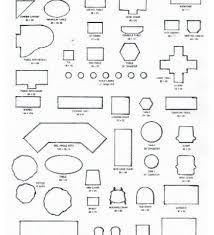 furniture templates for floor plans printable furniture templates 1 4 scale furniture designs