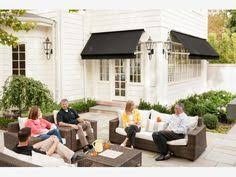 Sugarhouse Tent And Awning Houstonian Standing Seam Slope Awning Commercial Window And