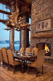 Dining Room Interior Design Ideas Best 25 Rustic Dining Rooms Ideas On Pinterest Dining Wall