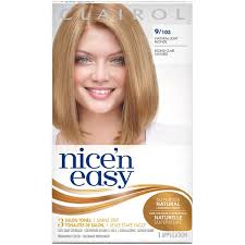 clairol nice n easy natural light auburn clairol nice n easy permanent hair color 9 natural light blonde 1
