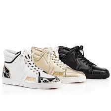 christian louboutin sporty dude low flat mens leather sneakers in