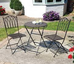 Tesco Bistro Chairs Garden Patio Sets Stylish Garden Furniture Bistro Set Patio