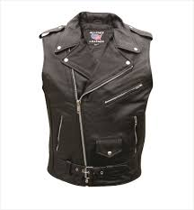 leather motorcycle jackets for sale mens sleeveless buffalo leather motorcycle jacket mens biker gear
