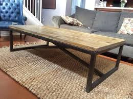 Rustic Metal Coffee Table Wood And Metal Coffee Table Gmsousa