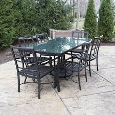 Pottery Barn Patio Table Pottery Barn Riviera Dining Patio Table With Chairs Ebth