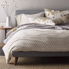 Warwick Bed Frame 5 Oz Warwick Dot Flannel Sheets Bedding Set The Company Store
