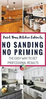 can you paint kitchen cabinets without taking them 23 best paint kitchen cabinets without sending or priming