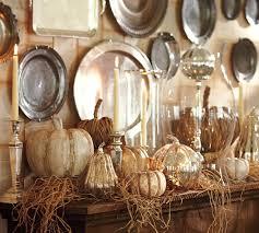 Pottery Barn Fall Decor Ideas Woven Rattan Pumpkin Pottery Barn