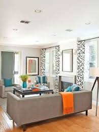 Gray And Orange Bedroom Living Room Blue Orange And Brown Color Scheme Design Cozy And