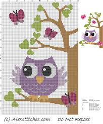 best 25 cross stitch owl ideas on cross stitch