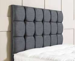 bedroom square gray diy upholstered fabric bedroom headboard
