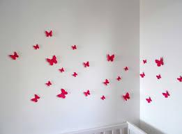 deco papillon chambre fille deco murale papillon fraisdeco murale chambre bebe lot de collection