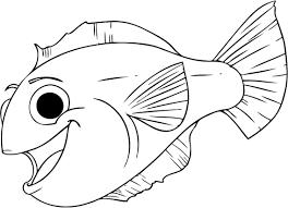 splendid design fish coloring pages preschoolers preschool
