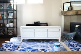 pretty dubs ikea hemnes hack tv unit makeover