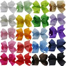 amazon com cellot boutique teens girls big hair bows clips 12