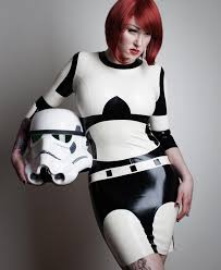 Halloween Costumes Storm Skin Tight Stormtrooper Latex Dress Im Nerd