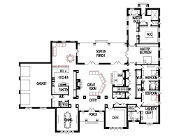 4 bedroom open floor plans unique open floor plans threebedroom custom 4 bedroom unique