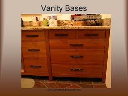 Mission Vanity Kitchen Bath Cabinetry
