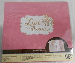 recollections photo album refill pages recollections live the scrapbook album kit check out the
