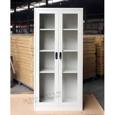 metal storage cabinet with doors high quality cheap storage kd glass door locker used medical