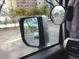 Blind Spot Side Mirror Blind Spot Mirror Mod On Grab Handles Toyota Fj Cruiser Forum
