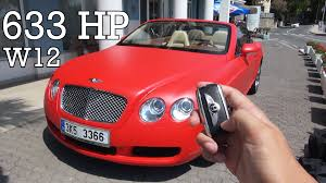 bentley convertible red luxury supercar bentley continental 6 0 gt w12 convertible