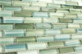 green backsplash kitchen green glass backsplash kitchen tile blue subway